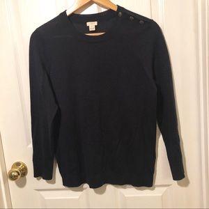 J. Crew Navy Sweater